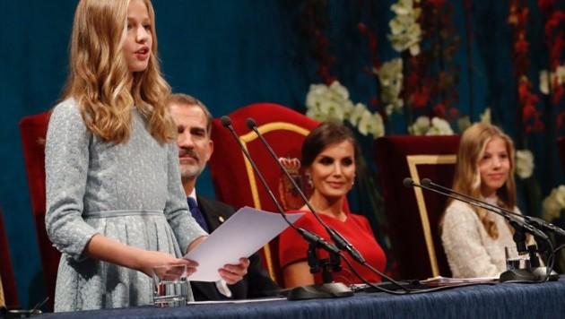 Prinzessin Leonor von Spanien (Bild: twitter.com/casareal)
