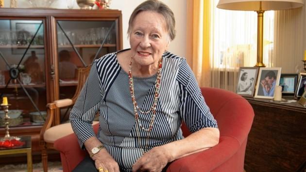 Josephine Ahlbach-Jacobi appelliert an das Gewissen des Einbrechers. (Bild: Camera Suspicta / Susi Berger)