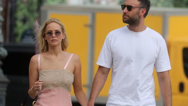 Jennifer Lawrence und Cooke Maroney (Bild: www.PPS.at)