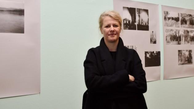 Die bildende Künstlerin Tatiana Lecomte bekommt den Landespreis für interdisziplinäre Kunstformen. (Bild: LiveBild)