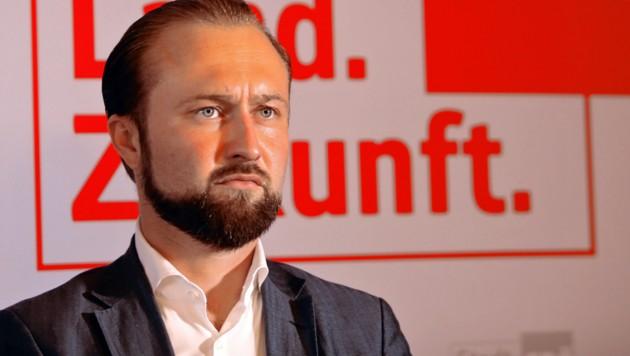 Max Lercher (Bild: Jürgen Radspieler)