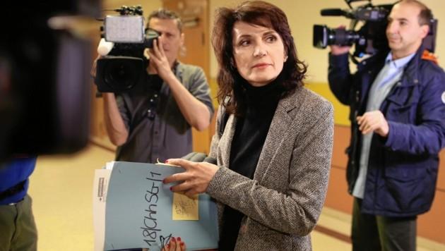 Strafverteidigerin Astrid Wagner ist reges Medieninteresse gewöhnt. (Bild: Gerhard Bartel)