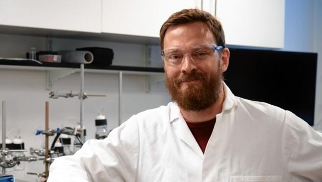 Top-Chemiker Erwin Reisner lehrt in Cambridge. (Bild: Chanon Pornrungroj)