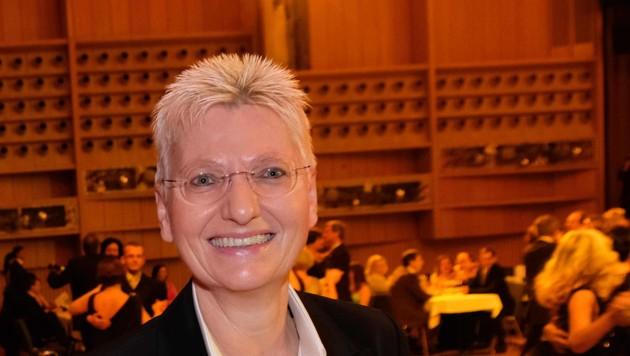 Magistratsdirektorin Martina Steininger dankt ab (Bild: Horst Einöder)