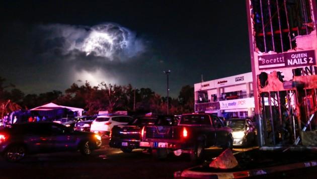 Weltuntergangsstimmung bei Tornado in Dallas