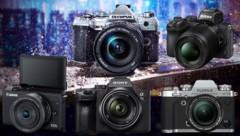 (Bild: Olympus, Fujifilm, Canon, Nikon, Sony, krone.at-Grafik)