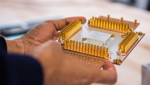 Beim Internetkonzern Google forscht man seit Jahren am Quantencomputer. In Deutschland will man diese Zukunftstechnologie aber nicht allein den IT-Riesen aus dem Silicon Valley überlassen. (Bild: Google)