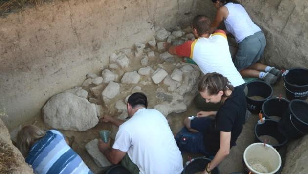 """Forscher haben in Niederösterreich einen """"Kühlschrank"""" aus der Steinzeit entdeckt. (Bild: APA/ÖAW/OREA/THOMAS EINWÖGERER)"""