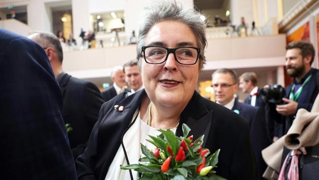 Eva Blimlinger bei der konstituierenden Sitzung des Nationalrats (Bild: APA/GEORG HOCHMUTH)