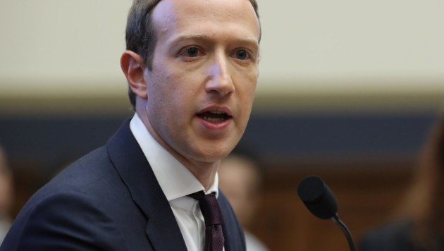 Platz 3: Mark Zuckerberg (Bild: AFP)