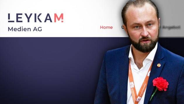 (Bild: APA/HANS PUNZ, leykam.com, krone.at-Grafik)