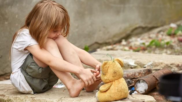Symbolbild Kinderarmut (Bild: stock.adobe.com)