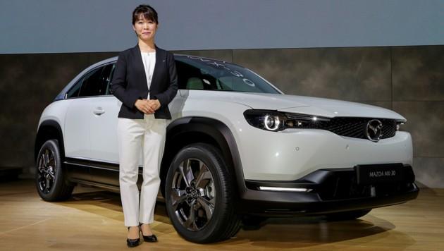 Tomiko Takeuchi, Projektmanagerin Mazda MX-30 (Bild: Mazda)