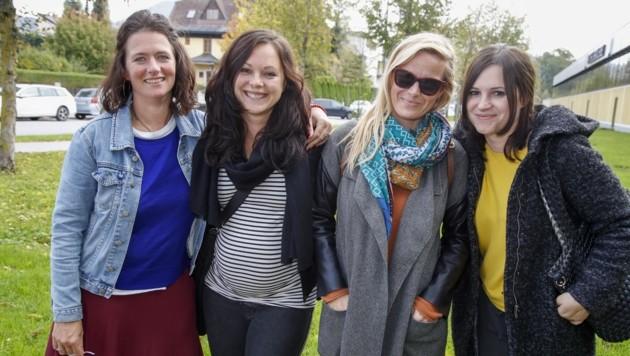Sabine, Sabrina und Marina feiern am 26. Oktober jedes Jahr den Geburtstag von Verena (2.v.l.) (Bild: Tschepp Markus)
