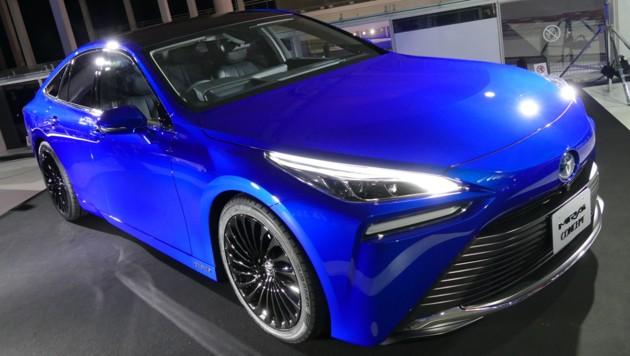 Toyota Mirai (Bild: Stephan Schätzl)