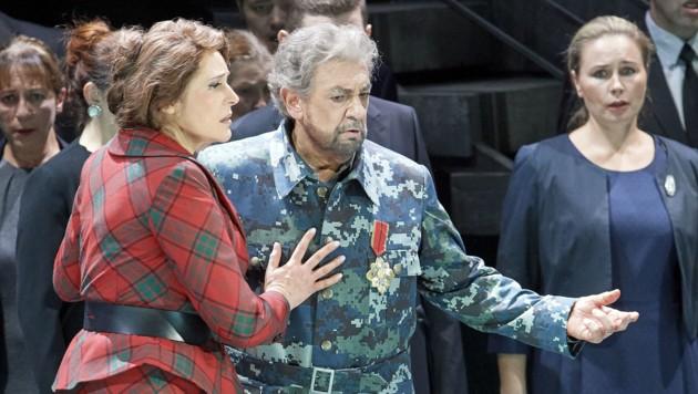 Placido Domingo als Macbeth an der Wiener Staatsoper (Bild: WIENER STAATSOPER/MICHAEL PÖHN)