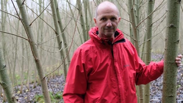 Klaus Erhart kämpft um den Erhalt von 20.000 Bäumen. (Bild: Horst Einöder)