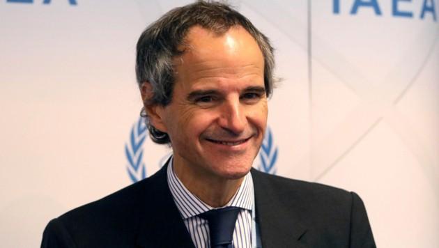 Rafael Grossi ist der neue Chef der IAEA. (Bild: AP)