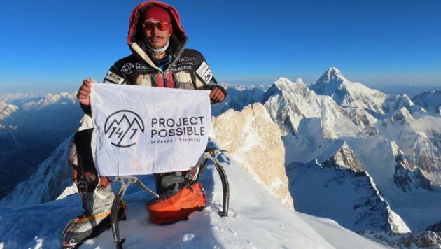 Der Nepalese Nirmal Purja (Bild: AFP)