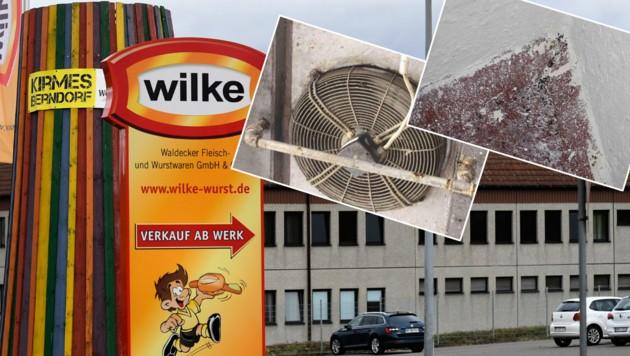 (Bild: APA/AFP/Ina FASSBENDER; Regierungspräsidium Darmstadt / Task-Force Lebensmittelsicherheit; krone.at-Grafik)