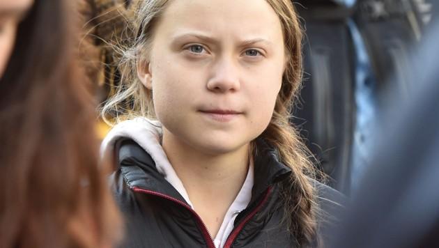 2019 immer ein Thema: Klimaaktivistin Greta Thunberg (Bild: AFP)