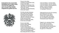 """Auszüge aus dem Buch """"Liederliche Lieder"""" der Schülerverbindung Pennales Corps Austria zu Knittelfeld (Bild: """"Krone"""", krone.at-Grafik)"""