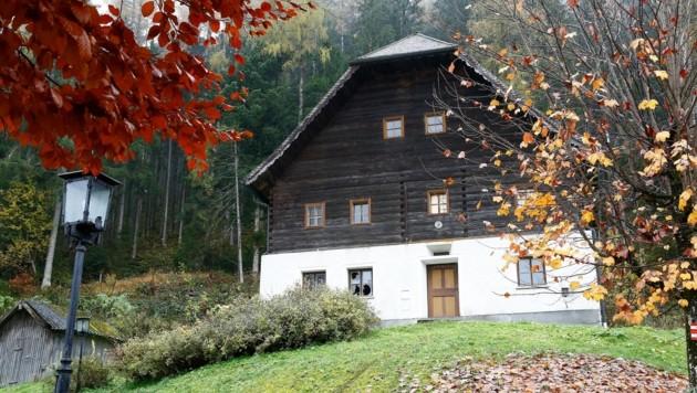 Das Mesnerhaus in Werfenweng steht unter Denkmalschutz. (Bild: Gerhard Schiel)