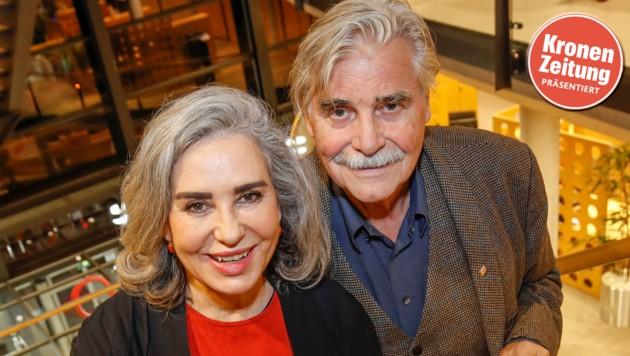 Peter Simonischek und Brigitte Karner (Bild: Markus Tschepp)