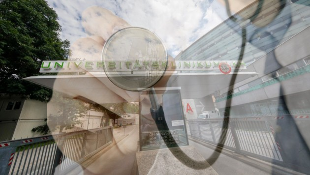 SALK: Unsummen wurden für schlechte Reinigung verjuxt, bei der Belegschaft überprüft man nun jede Minute Arbeitszeit (Bild: viennareport/Tschepp)