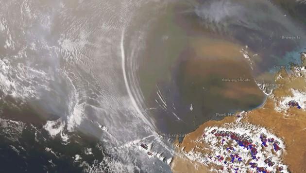 Satellit filmt atmosphärische Gravitationswellen