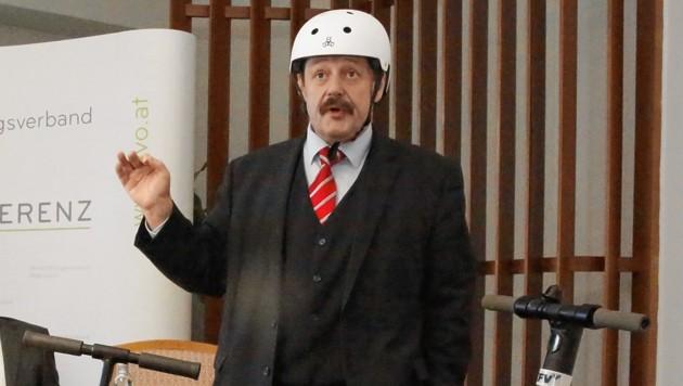 Physiker Werner Gruber (Bild: Jöchl Martin)
