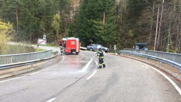 Verletzt wurde bei dem Unfall zum Glück niemand. (Bild: FF Gotschuchen)