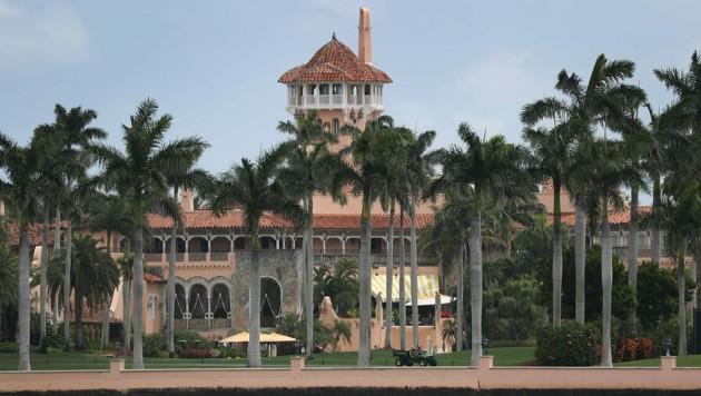 Trumps Resort Mar-a-Lago in Palm Beach (Bild: APA/AFP/GETTY IMAGES/JOE RAEDLE)