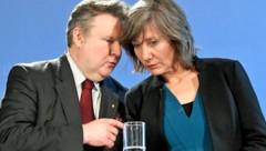 Das Wiener Koalitions-Duo Michael Ludwig und Birgit Hebein (Bild: APA/APA/HANS KLAUS TECHT)