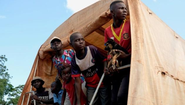 Für afrikanische Flüchtlinge ist der Landweg noch gefährlicher als die Passage über das Mittelmeer. (Bild: APA/AFP/)