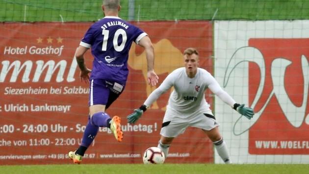 Ebenfalls im U19-Teamkader: Adnet-Goalie Mirel Kahrimanovic. (Bild: krugfoto/Krug Daniel sen.)