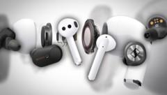 (Bild: Apple, Sennheiser, Huawei, Sony)