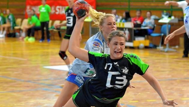 Handballerin Leonie Rinner greift mit HIB Graz im EHF-Challenge-Cup an (Bild: HIB Graz)