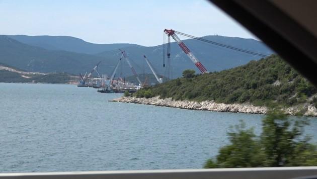 Die Bauarbeiten schreiten nach Plan voran. (Bild: krone.tv)