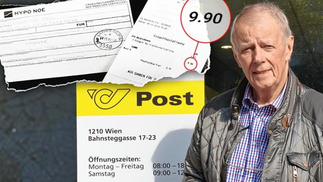 Post verlangt zehn Euro Gebühr pro Zahlschein