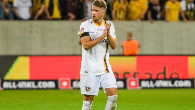 Zwangspause für Patrick Möschl bei Dynamo Dresden. (Bild: Dennis Hetzschold)