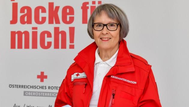 Ilse Ebner vom Roten Kreuz (Bild: Harald Dostal)