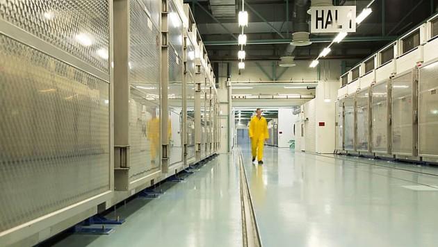 Die Atomanlage Fordo südlich von Teheran (Bild: APA/AP)