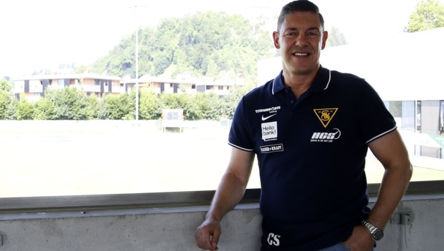 Will mit dem SAK auf der Anlage in Nonntal in die 2. Liga: Präsident Christian Schwaiger. (Bild: Tröster Andreas)