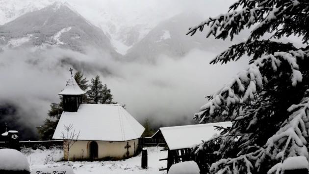 Pfaffenberg im Schnee (Bild: Picasa)
