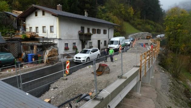 Verbreiterung am Kasbach (Bild: ZOOM.TIROL)