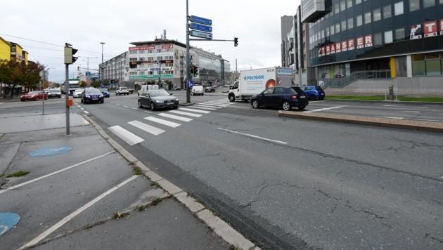 Im Bereich dieser Kreuzung kam es zu dem verheerenden Unfall. (Bild: Gerhard Bartel)