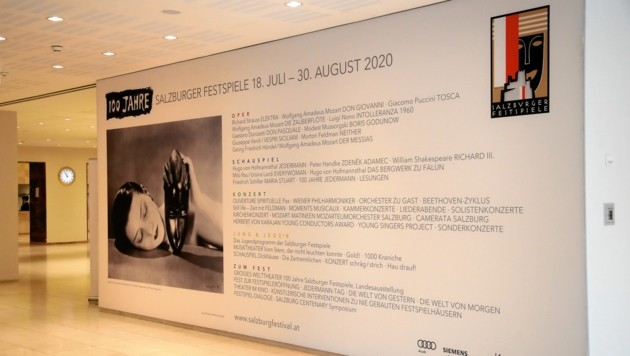 Das Programm zu 100-Jahre-Festspiele (Bild: ANDREAS TROESTER)
