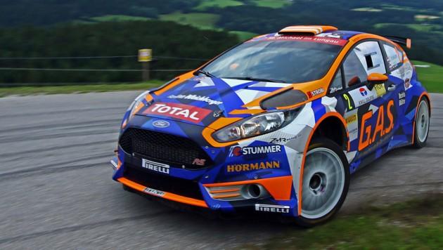 Hermann Neubauer wird auch bei der W4-Rallye das Maximum aus seinem Ford Fiesta R5 herausholen. (Bild: Daniel Fessl - rallyepics.at)