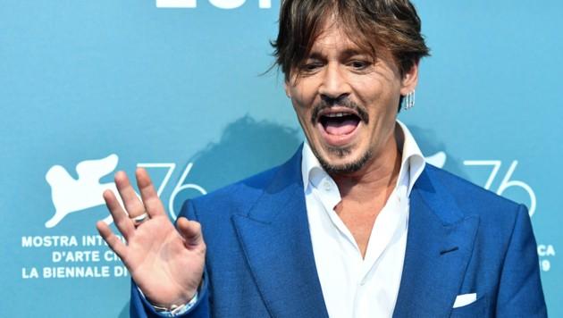 Johnny Depp (Bild: AFP)